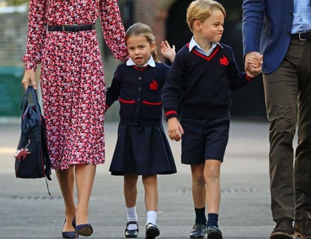 Princess Charlotte ve Prince George
