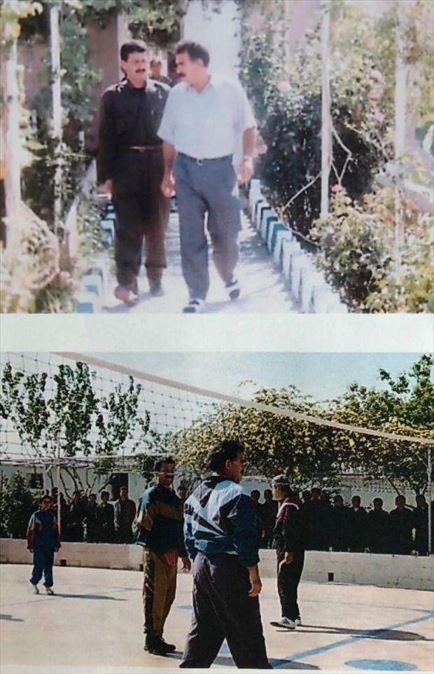 Öldürülen terörist Nedim Karakulak'ın, teröristbaşı Abdullah Öcalan ile fotoğrafları yayınlandı.