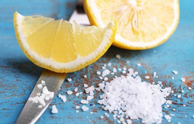 deniz tuzu ve limon