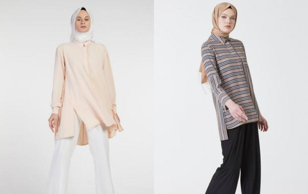 tesettür gömlek modelleri 2019