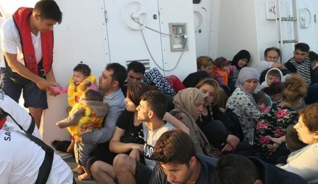 Aydın'da 89 göçmen yakalandı