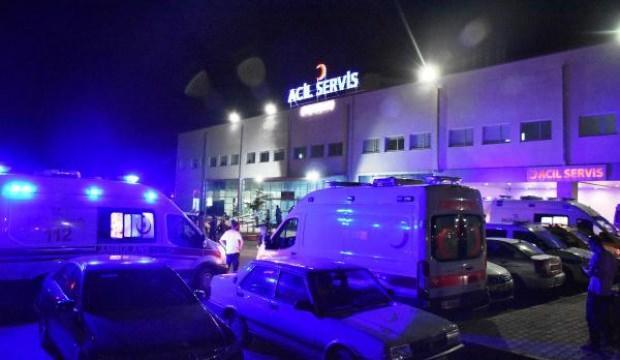 Balkondan düşen küçük İkranur yaralandı