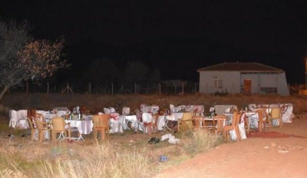 Düğünde silahlar ateşlenince kavga çıktı: 5 yaralı