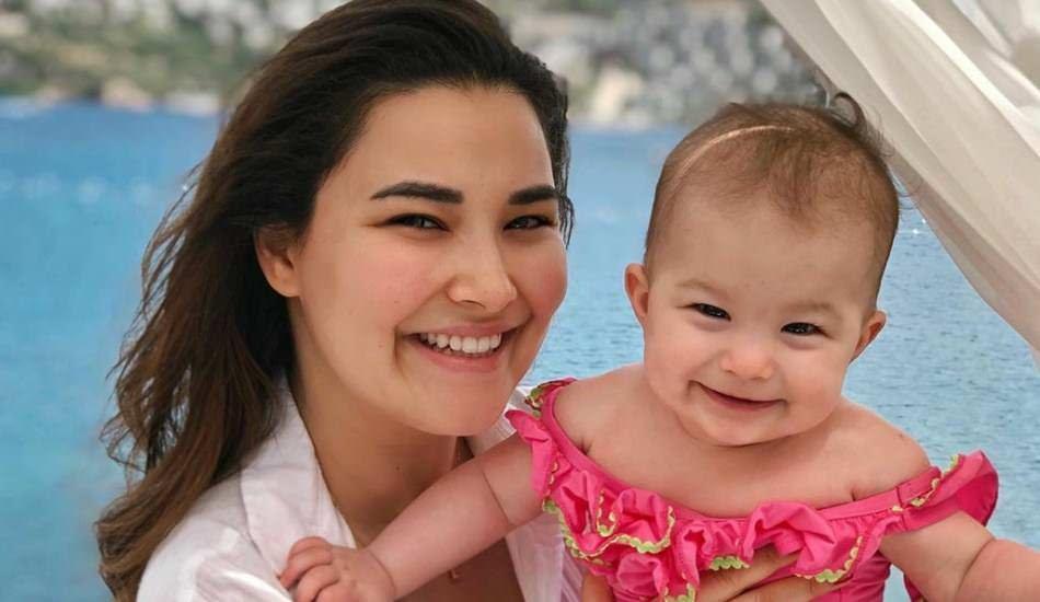 Gizem Hatipoğlu'nun kızı Lila ile paylaşımları mest ediyor!