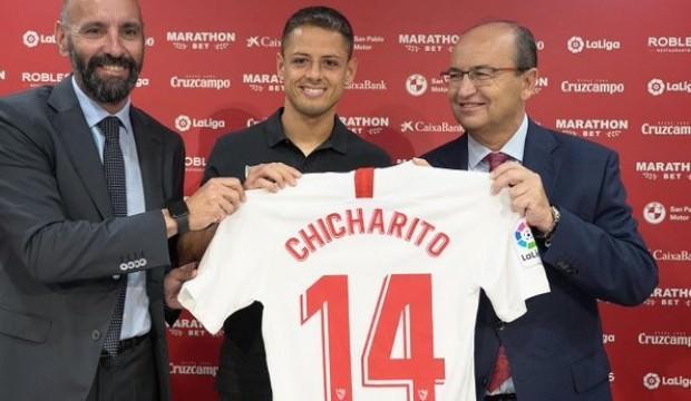 Chicharito 3 yıllık imzayı attı!