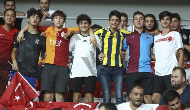 Milli Takım 5 yıl sonra İstanbul'a döndü