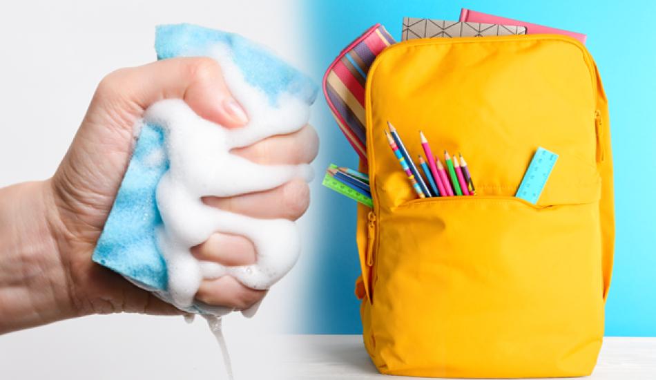 Okul çantası nasıl yıkanır? Okul çantası temizleme rehberi