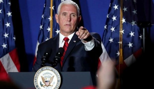 Mike Pence'den dünyayı tedirgin eden İran açıklaması