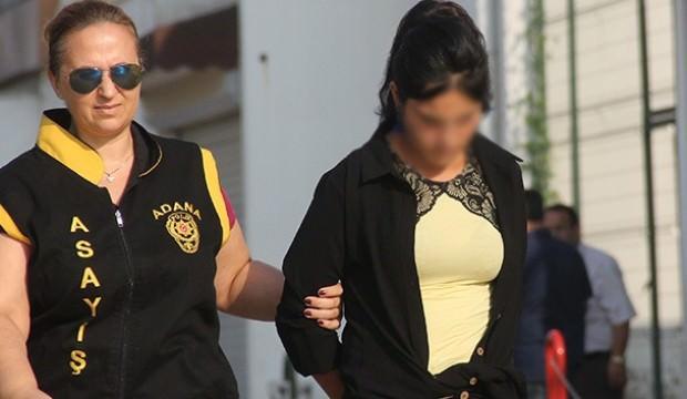 Suç makinesi genç kız yakalandı