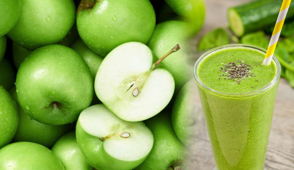Yeşil elmanın faydaları nelerdir? Düzenli yeşil elma ve salatalık suyu karışımı içerseniz...
