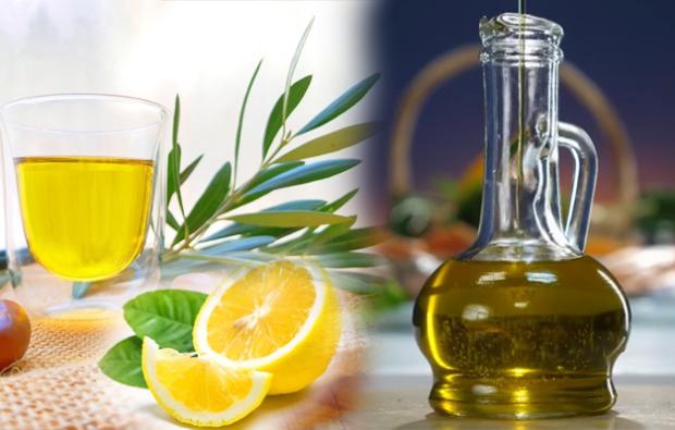 zeytinyağı ve limon suyu
