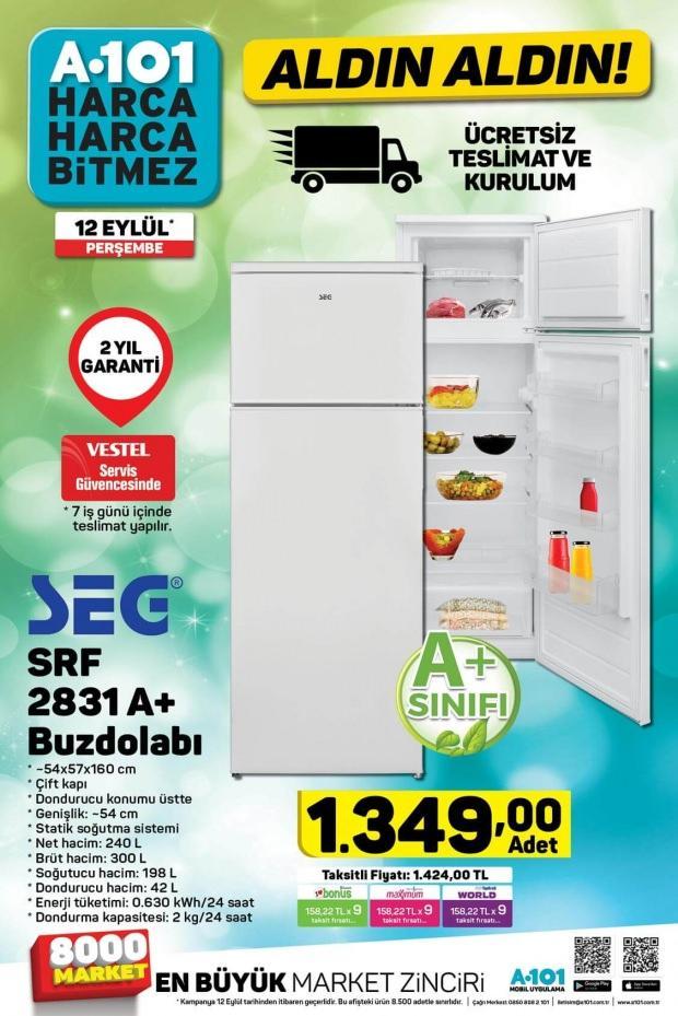 A101 Buzdolabı