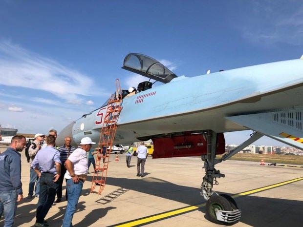 Su-35 savaş uçağı Atatürk Havalimanı'nda yapılacak TEKNOFEST'te sergilenecek