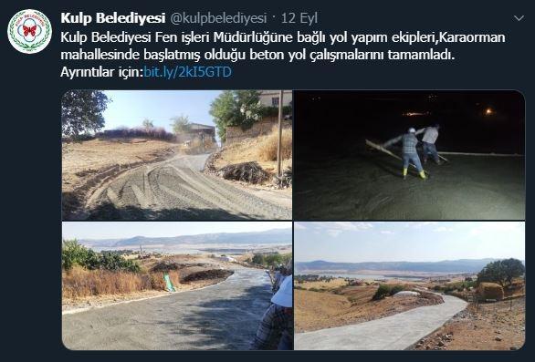 HDP'li belediyenin saldırıdan kısa bir süre önce yapmış olduğu paylaşım