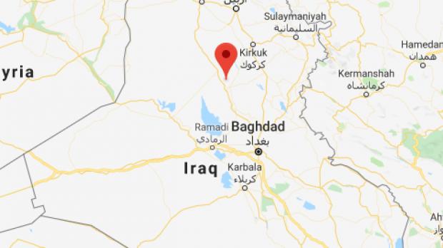 Irak'ın kuzeyindeki Salah ad Din bölgesindeki Qanus adası