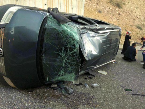 Turgut Arslan'ın kullandığı otomobil...
