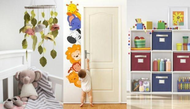 bebek odası dekorasyon ürünleri
