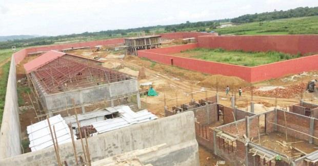 İnşa edilen toplama kampı