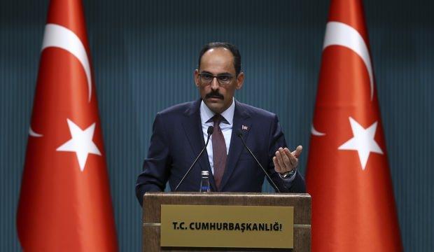 Sözcü Kalın: Türkiye'yi F-35 programından çıkarmak kolay değil