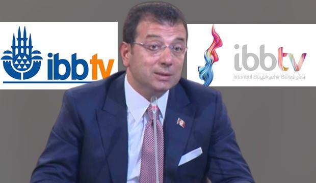İBB TV'de cami logosu kaldırıldı