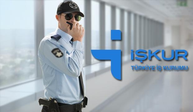 İŞKUR'dan en az ilköğretim mezunu güvenlik görevlisi alımı sona eriyor!
