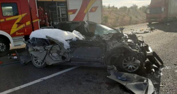 Feci kaza sonrası aracın son hali