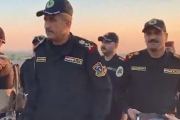 Irak'ın terörle mücadele ekipleri