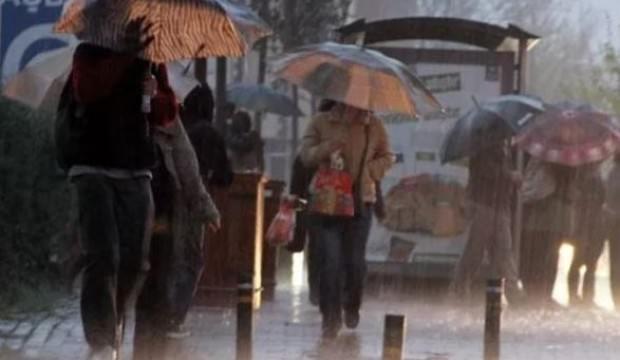 Meteoroloji'den bazı iller için yağmur uyarısı