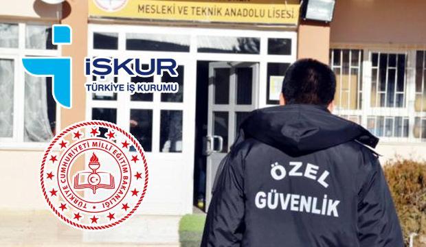 Okullara güvenlik görevlisi alımları: İŞKUR - TYP duyurusu yayımlandı