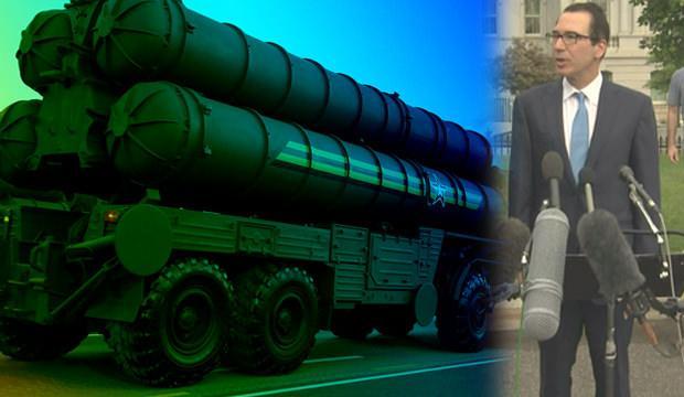 S-400'ler için yeni gelişme! ABD'den Türkiye'ye yaptırım açıklaması