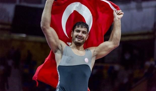 Taha Akgül: 'Hedefim dünya şampiyonluğu'