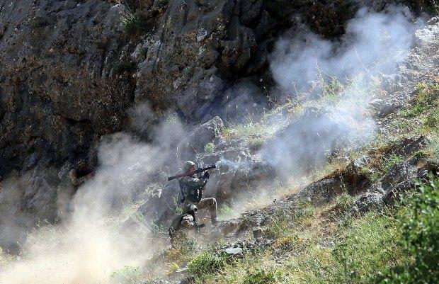 PKK'YA OPERASYONDAN BİR KARE...