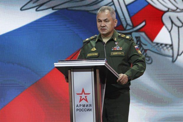Rus Savunma Bakanı Sergey Şoygu