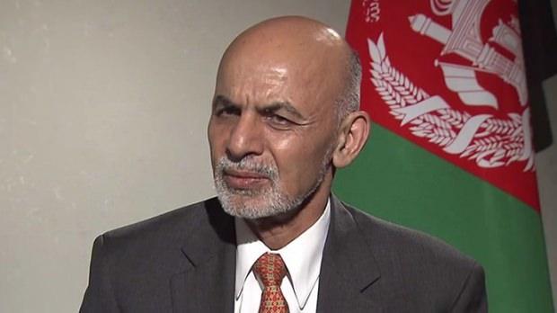 Afganistan Cumhurbaşkanı Eşref Gani...