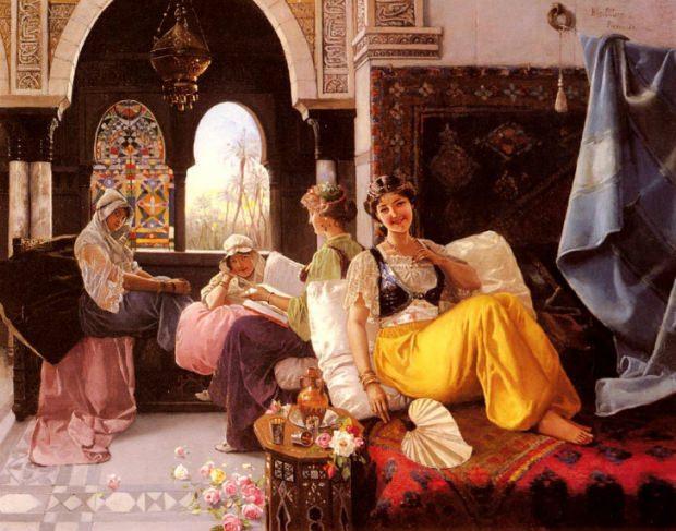 osmanlı saraylarının kadınları