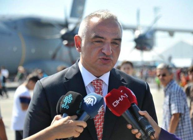 Kültür ve Turizm Bakanı Mehmet Nuri Ersoy...