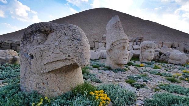 Nemrut Dağı'nın eşsiz manzarası