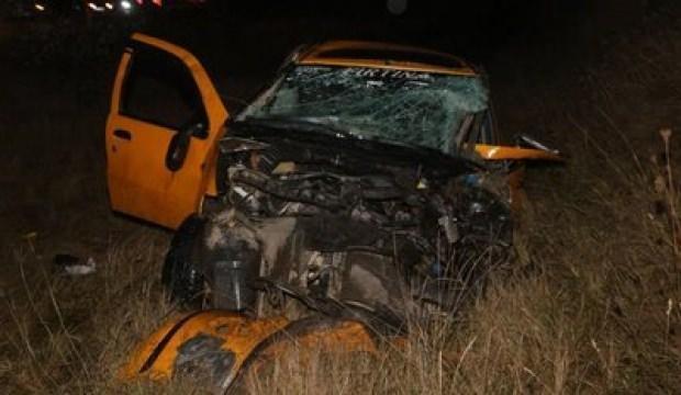 Kastamonu'da feci kaza: 2 ölü, 3 yaralı