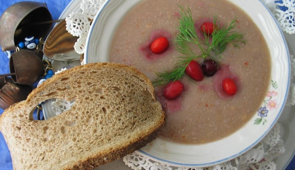 Kızılcık tarhanası nasıl yapılır? Kızılcık tarhanasından enfes çorba tarifi