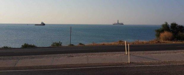 Yavuz sismik gemisi Mersin açıklarında görüntülenmişti.