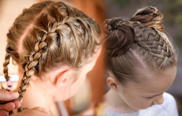 çocuk örgü saç modelleri ve yapılışları