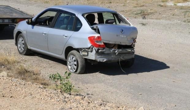 Otomobil dere yatağına uçtu: 4 yaralı