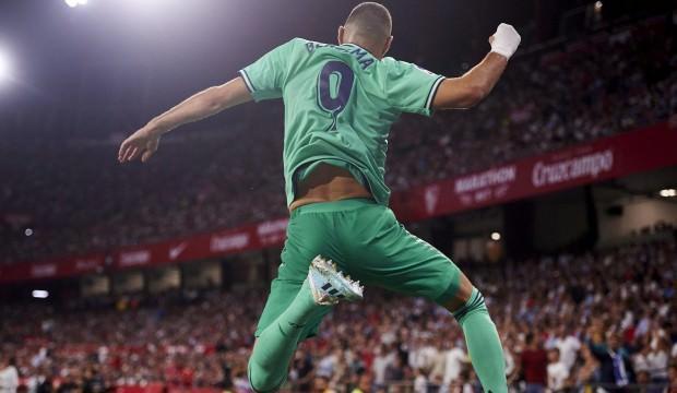 Real Madrid Sevilla'yı devirdi!
