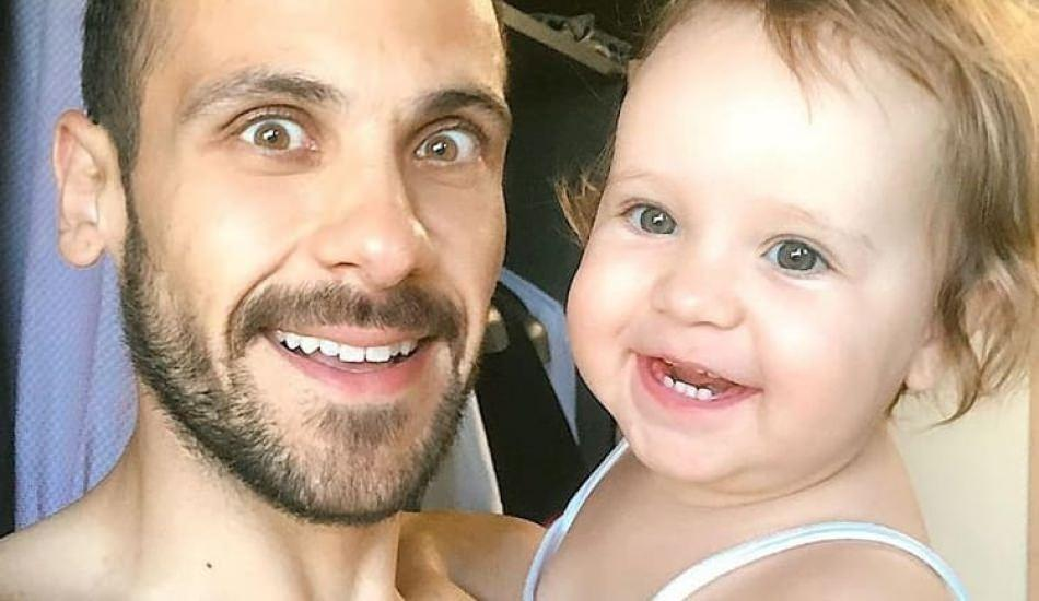 Ümit Erdim'in eşinden kızı Ses ile 'tbt' paylaşımı!