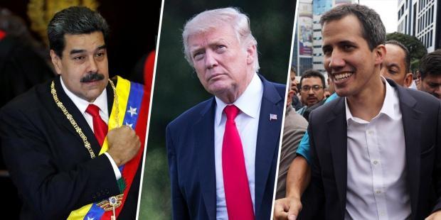 Guaido, ABD'nin desteğini arkasına almış ancak Maduro'yu devirememişti...