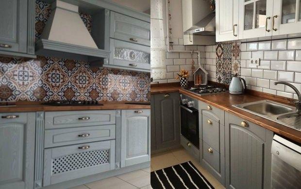 mutfak doğal ahşap dekorasyonu