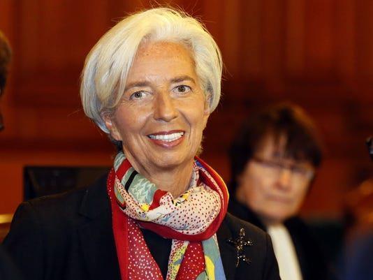IMF'nin eski başkanı Christine Lagarde