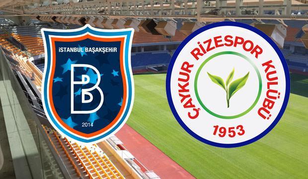 Medipol İstanbul Başakşehir ve Çaykur Rizespor maçı saat kaçta?