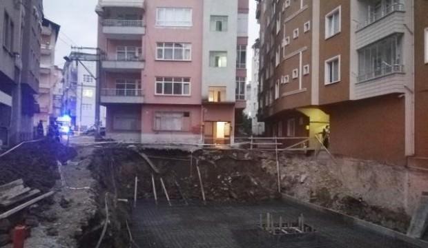 Ordu'da, 6 katlı bina tahliye edildi