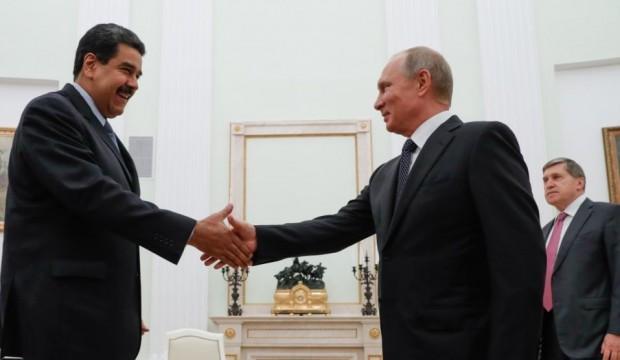 Putin, Maduro'yu Kremlin'de ağırladı
